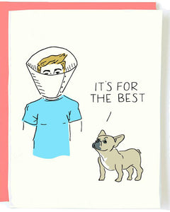 It's For The Best Greeting Card