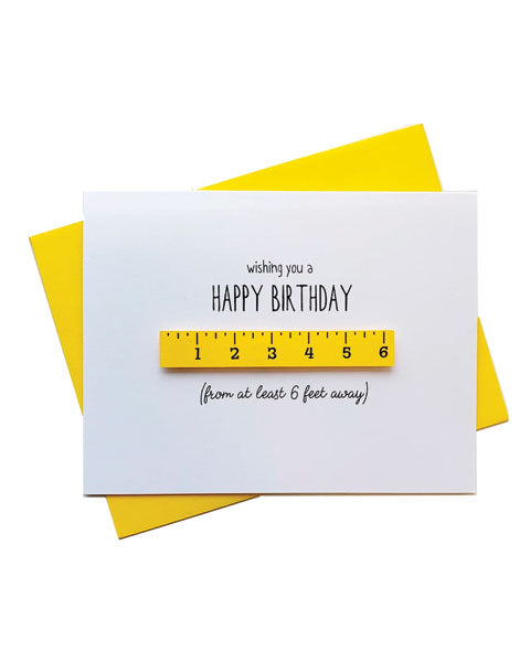 Quarantine Birthday Greeting Card