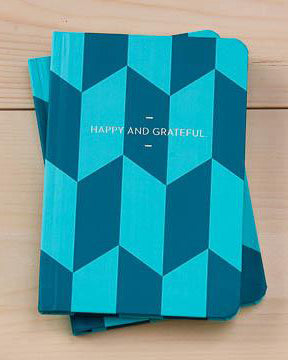 Happy and Grateful Motto Journal