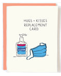 Hugs & Kisses Replacement Greeting Card