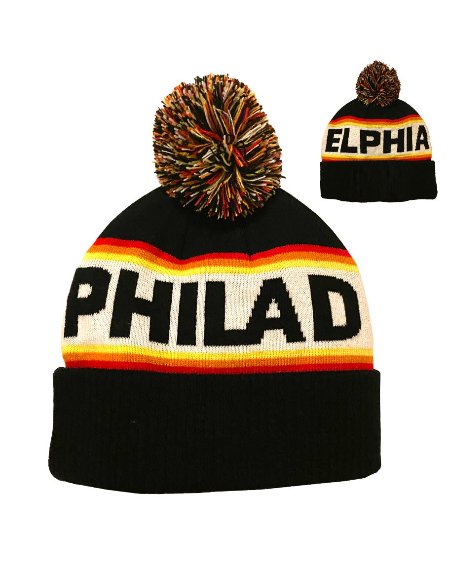 Philadelphia Sunrise Knit Hat
