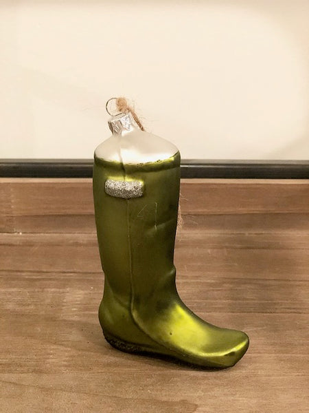 Garden Boot Ornament (Assorted Colors)