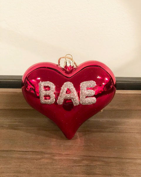 Bae Heart Ornament