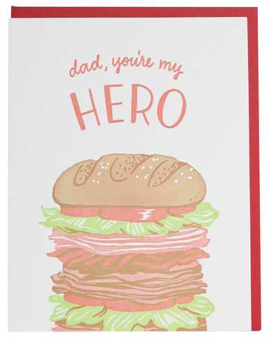Hero Father's Day Greeting Card
