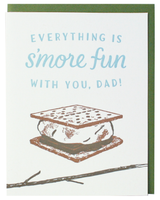 S'more Father's Day Greeting Card