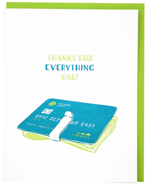 Money Clip Father's Day Greeting Card