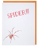 Spider Father's Day Greeting Card