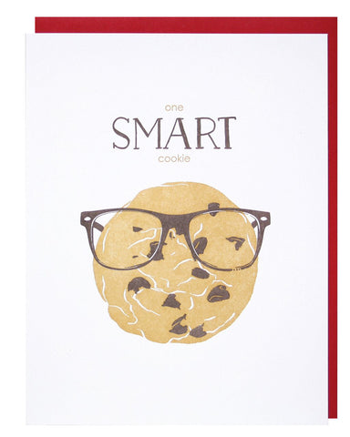 Smart Cookie Graduation Congratulations Greeting Card