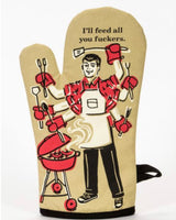 I'll Feed You Oven Mitt