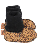 Kip & Co Leopard Baby Booties