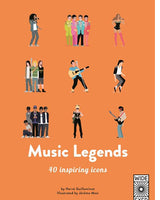 Music Legends 40 Inspiring Icons Book