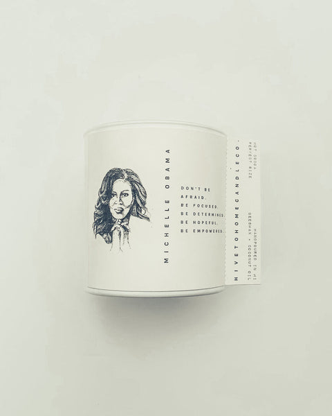 Limited Edition Michelle Obama Candle