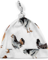 Milkbarn Organic Cotton Knotted Hat Chicken
