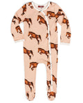Milkbarn Organic Cotton Horse Footed Romper