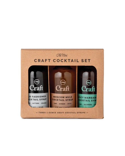 Mini Craft Cocktail Syrup 3-Pack Set