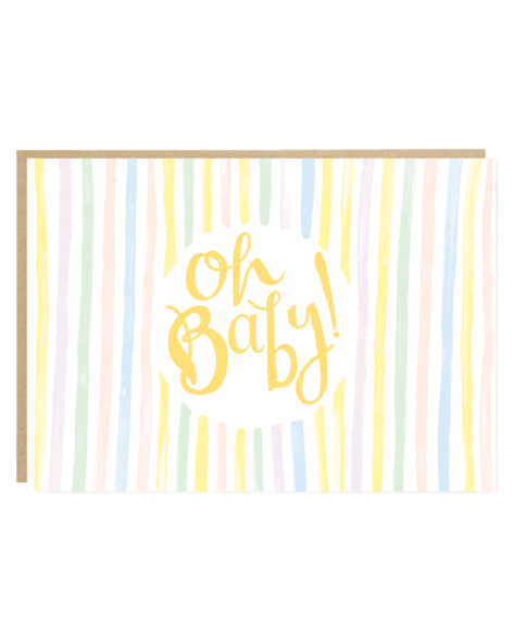Oh Baby! Baby Greeting Card