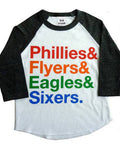 Philly Sports Raglan T-shirt