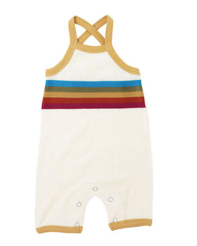 L'ovedbaby Organic Terry Cloth Overall- Honey