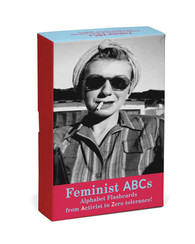 Feminist ABCs Alphabet Flashcards
