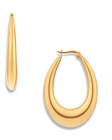 Allister Hoop Gold Earrings
