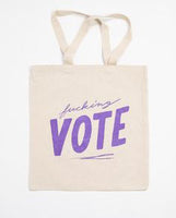 Vote Canvas Tote Bag