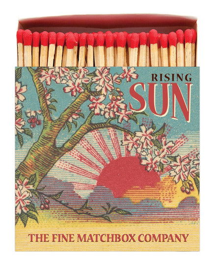 Luxury Boxed Matches - Rising Sun