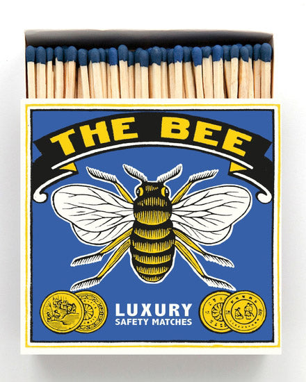 Luxury Boxed Matches - The Bee