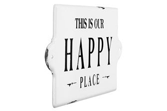 This Is Our Happy Place Wall Sign