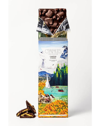 Compartes Campfire S'mores Chocolate Bar