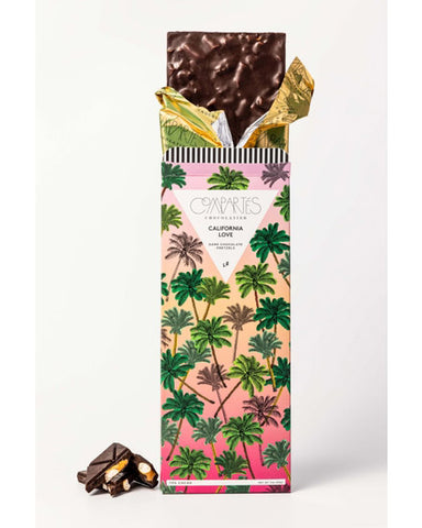 Compartes California Love Dark Chocolate Salted Pretzel Bar