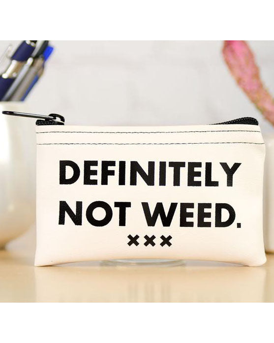 Definitely Not Weed Stash Pouch