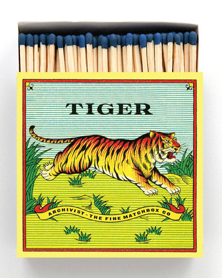 Luxury Boxed Matches - Tiger