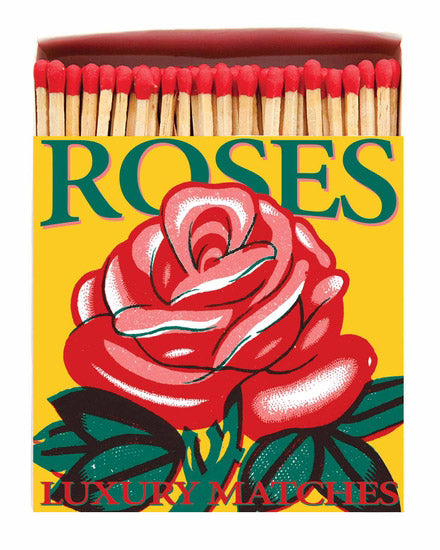 Luxury Boxed Matches - Roses