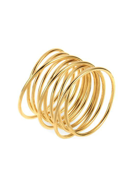 Florence Coil Gold Ring