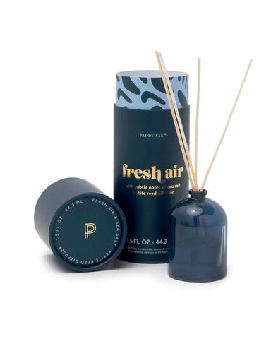 Paddywax Petite Fresh Air & Sea Salt Reed Diffuser