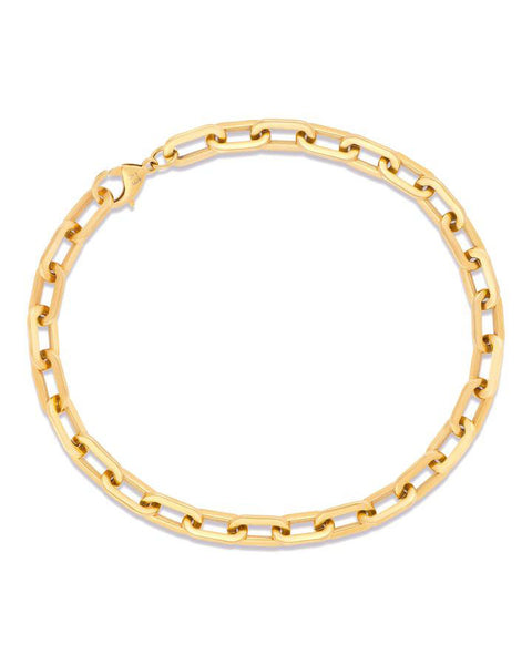 Gage Oversized Link Gold Necklace