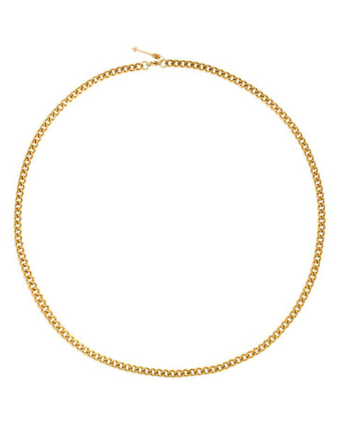 Hudson Cuban Link Gold Chain Necklace