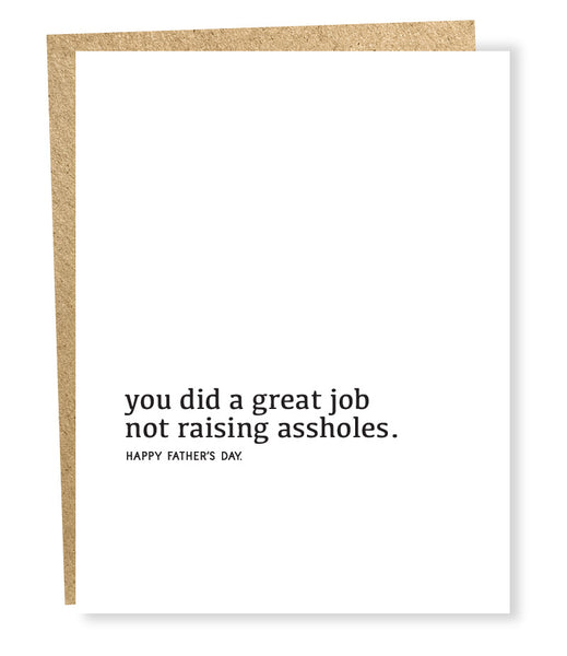 Great Job Father's Day Greeting Card