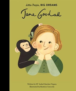 Little People Big Dreams Jane Goodall Book