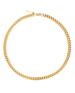 Liam Cuban Link Gold Chain Necklace