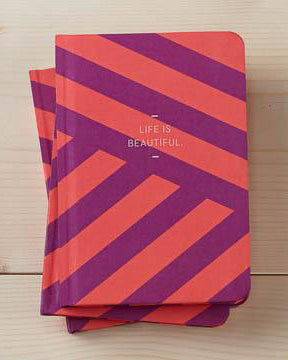 Life Is Beautiful Motto Journal