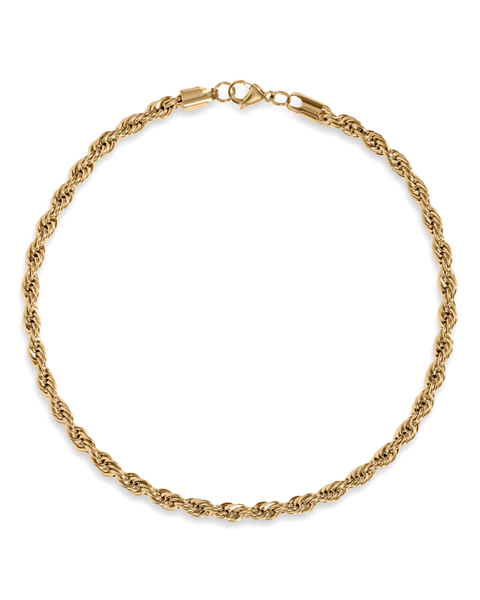 Luka Gold Chain Rope Necklace
