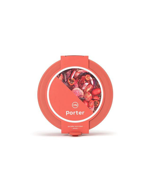 Porter Lunch Bowl Red