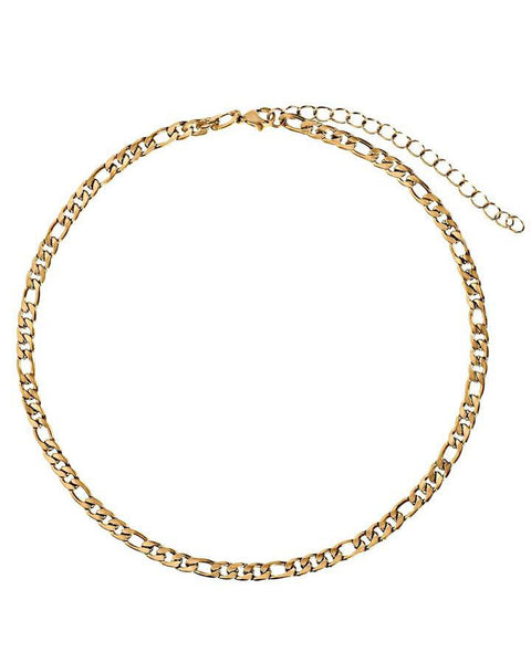 Zara Chain Choker Gold Necklace