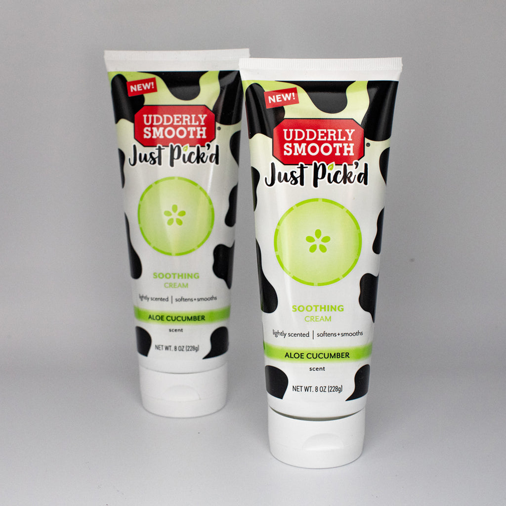 Udderly Smooth® Just Pick'd Cucumber Aloe, Twin Pack