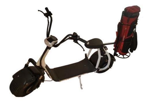 'Harley-style' GOLF  SCOOTER, electric, powerful motor incl. Golf Accessoires