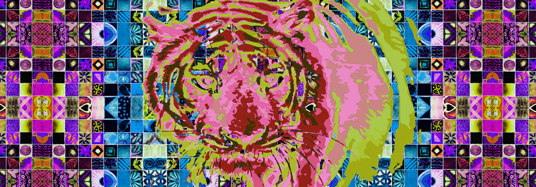 Tyger, Tyger - Green and Pink