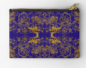 Royal Blue Bee Purse