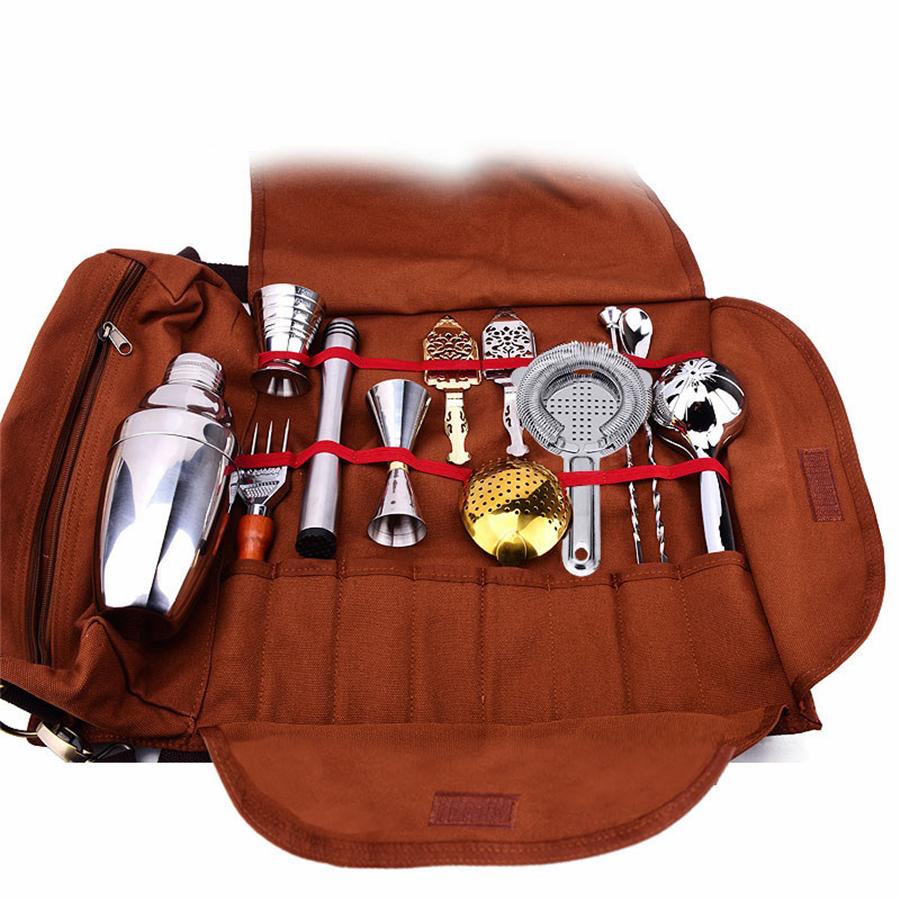 Cocktail Bar Tool Travel Bag