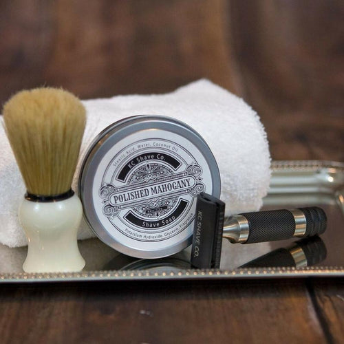 Donald 3pc Safety Razor Set, by KC Shave Co.